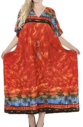 La Leela Caribbean Badebekleidung Tief Hals Weich Alle in Damen ...