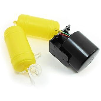 Sourcingmap a13091100ux0865 - Kit de interruptor de control de flotador de nivel de agua líquida control