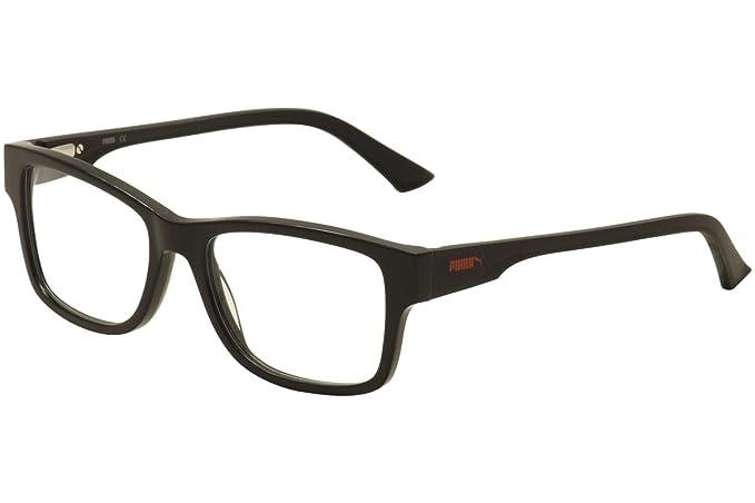 Amazon.com: Puma PU0031O Mens Eyeglass Frames - Black: Sports & Outdoors