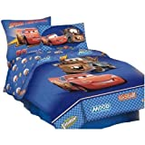 : Disney Cars Twin Comforter with Bonus Pillow Sham