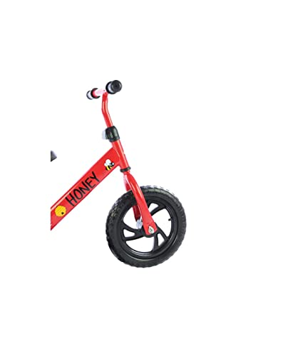 meteor Bicicleta sin Pedales para Ni/ños 2-6 a/ños hasta 30 kg Ultraligera Mini Bici Beb/és Infantil Andadores Beb/é Equilibrio con Sill/ín y Manilar Regulable Ruedas Anti-pinchazos First Bike