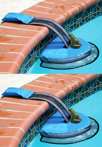 Frogs Swimming Pool - Frog Log Escape Devices for Small Animals in Pools (2)
