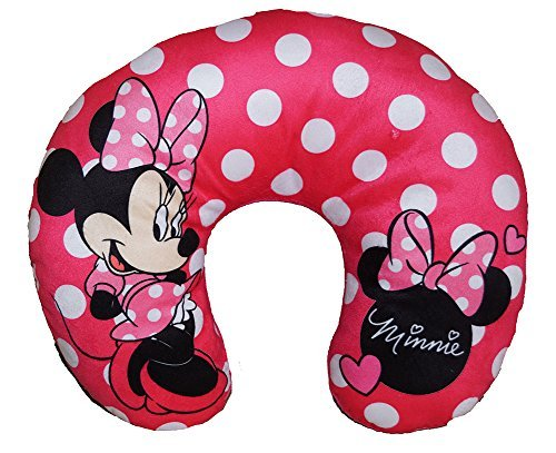 Disney Minnie Mouse Polka Dots Travel Neck Pillow