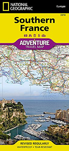 Southern France (National Geographic Adventure Map)...