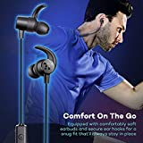 TaoTronics Bluetooth Headphones, Sweatproof Wireless in Ear Earbuds, Sports Magnetic Earphones with Built in Mic (IPX6 Waterproof, aptX Stereo, 7 Hours Playtime, CVC 6.0 Noise Cancelling Microphone)