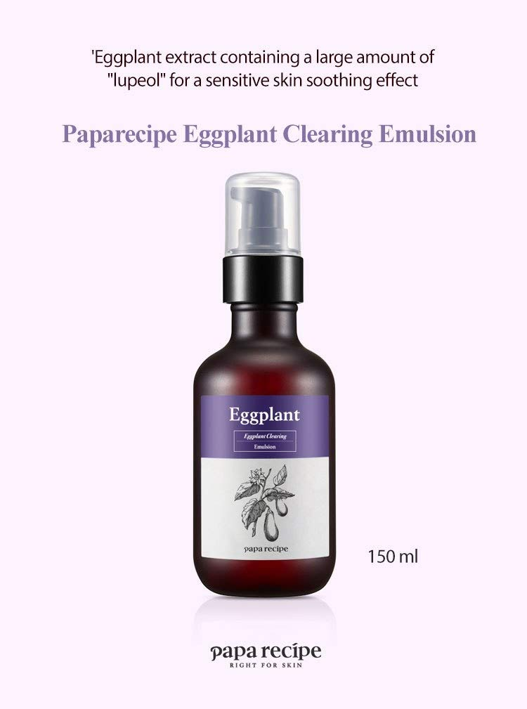 Papa Recipe Eggplant Clearing Emulsion by Papa Recipe