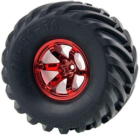 RC 0601 0602 0603-3003 Rubber Tires Blue Wheel Sets For HSP HPI