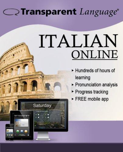 Transparent Language Online - Italian - Student Edition [6 Month Online Access]