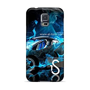Durable Hard Phone Case For Samsung Galaxy S5 With Provide Private Custom Vivid Mr Peabody Sherman Image IanJoeyPatricia