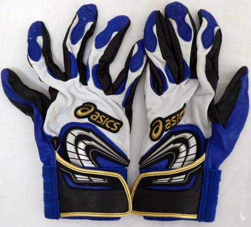 "Munenori Kawasaki Autographed Game Used Asics Batting Gloves""2013 Game Used"" Toronto Blue Jays #U93461 PSA/DNA Certified"