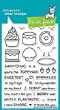 #4: Lawn Fawn LF1551 Sweet Friends Clear Stamp Set