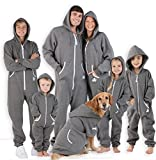 #1: Joggies - Family Footless Gray Onesies for Boys, Girls, Adults, and Pets