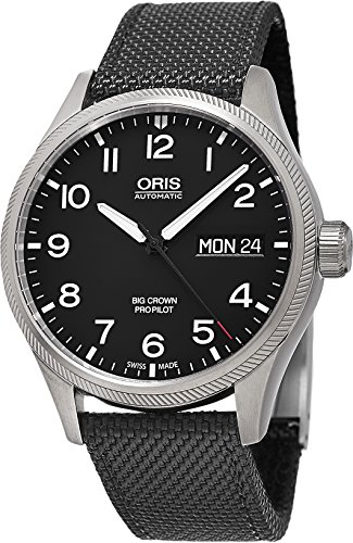 Oris Men Big Crown Pro Pilot Day Automatic Black Watch