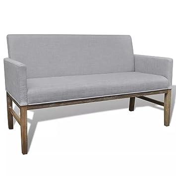 WEILANDEAL Sofa con cojin Acolchado de Tela y Madera de ...