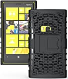 For NOKIA Lumia 920 Case, Generic Heavy Duty Armor Case Cover with Built-in Kickstand for Nokia Lumia 920 (At&t, T-mobile, Sprint, Verizon) -Black