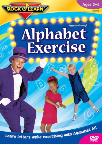 Exercise+DVD Products : Rock 'N Learn: Alphabet Exercise