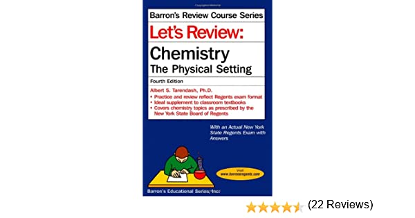 Let's Review Chemistry: The Physical Setting, 4th Edition (Let's ...