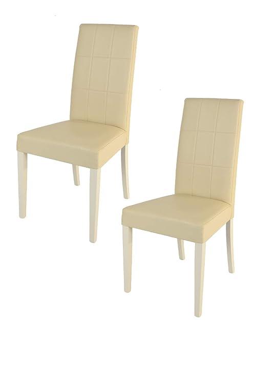 Tommychairs - Set 2 sedie Nuova Giada Tria per Cucina e Sala da ...