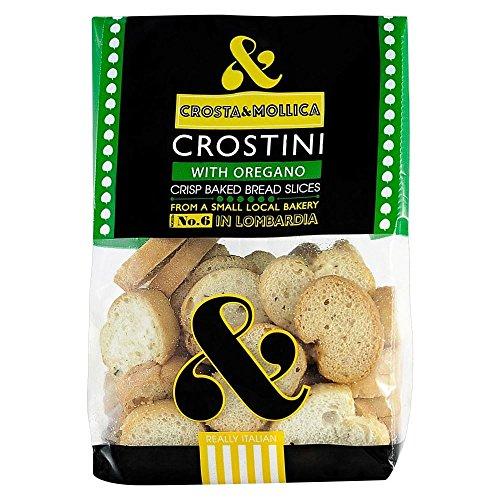 Crosta & Mollica Crostini - Oregano (150g) - Pack of 2