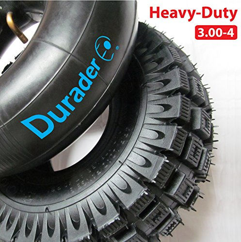 Rear Electric Scooter - 3.00-4 also known as (10 x 3, or 260 x 85) Scooter Tire & Inner Tube Set