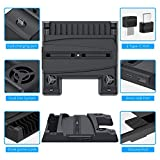 FYOUNG Stand Cooling Fan Charger Station for PS5
