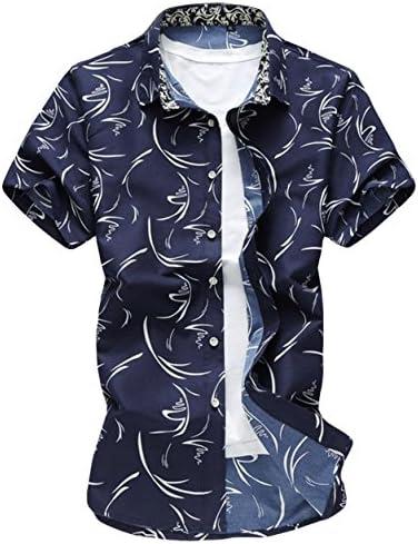 半袖シャツ アロハシャツ メンズ 夏 ビーチシャツ 半袖 軽量 花柄シャツ 通気性 シンプル トップス 着痩せ おしゃれ 海 リゾート カジュアル 涼しい 大きいサイズ