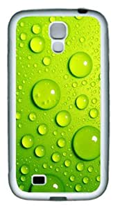 3D The Blister Green Crystal Clear Blisters TPU Rubber Soft Case Cover For Samsung Galaxy S4 SIV I9500 White