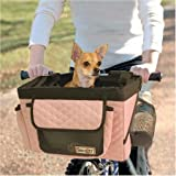 Pet Bicycle Basket – Pink, My Pet Supplies