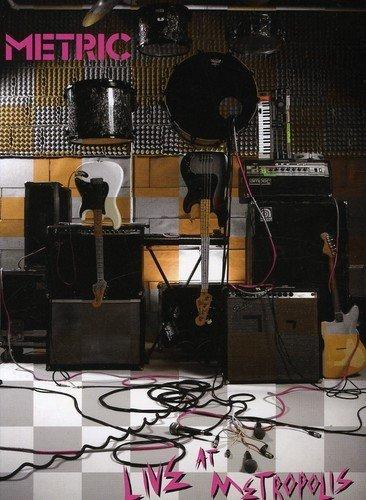 DVD : Metric - Live At Metropolis (Digipack Packaging)