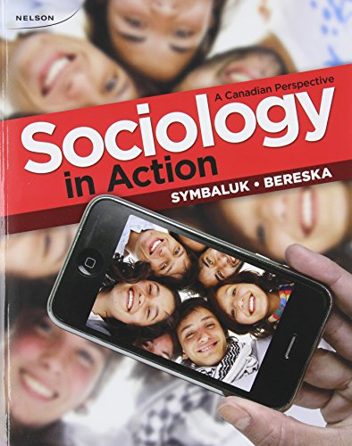 Sociology in Action A Canadian Perspective