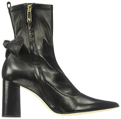Frances Valentine Kvinners Valerie Mote Boot Sort Skinn