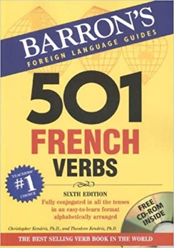 hot sale online 0a485 64639 ... denmark 501 french verbs with cd rom 501 verbs series 6th edition 821e5  d98e5