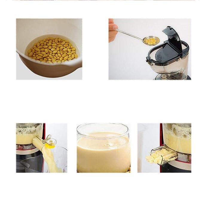 ... de separación de Gran diámetro exprimidor casero automático de Frutas y Verduras de múltiples Funciones Jugo Crudo Jugo de Soja Leche de Soja: Amazon.es