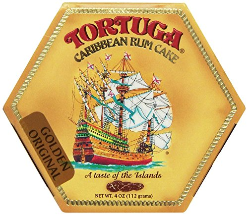 5 Year Rum (Tortuga Caribbean Rum Cake, 4 ounce Original Flavor)