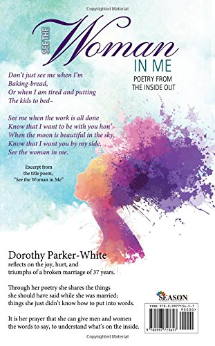 See The Woman In Me Poetry From The Inside Out Dorothy White