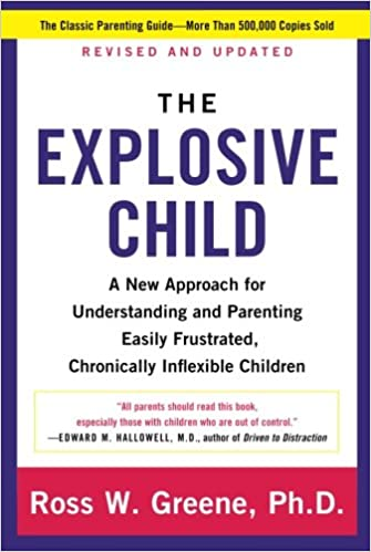 the explosive child a new approach for understanding and parenting