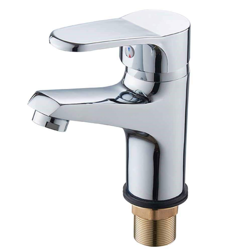 13 Zinc Alloy, Hot and Cold Lhxasd Bathroom Brass Chrome Basin Sink Mixer Taps, Single Lever Single Hole Faucet