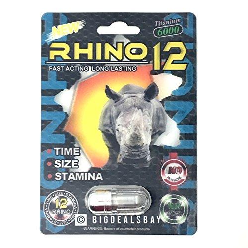Premium Rhino Sex Pill Enhancement product image