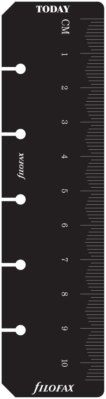 Filofax - Marcapáginas y regla 2 en 1 (tamaño pequeño, para ...