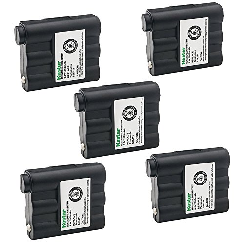 Kastar Cordless Battery 3 Pack Ni-MH 6V 1000mAh, Replacement Two-Way Radio Battery for Midland GXT-775 GXT-795 GXT720 GXT750 BATT5R BATT-5R LXT-210 LXT-303 NAUTICO NTI1VP GXT300 GXT400 GXT444 GXT450