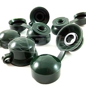100, enebro verde embellecedores ONDULINE - tapas para tornillos, COROLUX: Amazon.es: Bricolaje y herramientas