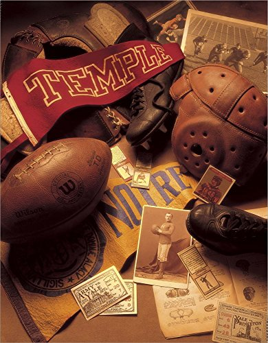 - Football by Michael Harrison Laminated Art Print, 22 x 28 inches