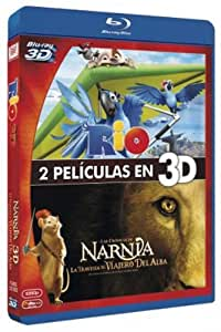 Pack: Rio + Las Crónicas De Narnia 3 (BD 3D) [Blu-ray]