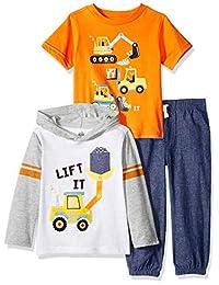 Kids Headquarters Juego de Pantalones de 3 Piezas para niños de la sede de los niños