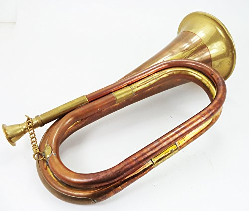 Military Chinese Army Brass Blowing Bugle Attack War Command Signal Horn by Dorpmarket