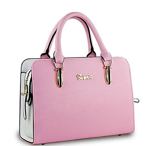 Flying Birds Women Pu Leather Handbags Women Shoulder Bag Messenger Bags iLS3626 (Pink)