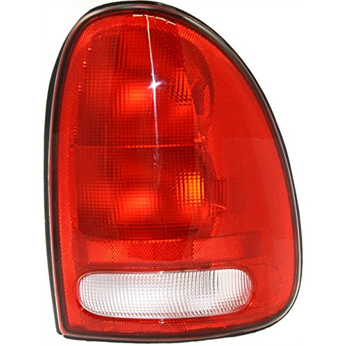 Tail Light compatible with CARAVAN 96-00/DURANGO 98-03 Right Side Lens and Housing
