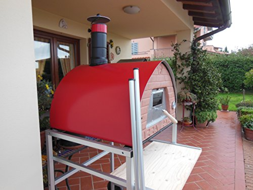 Wood burning pizza oven mobile Pizza Party 70x70