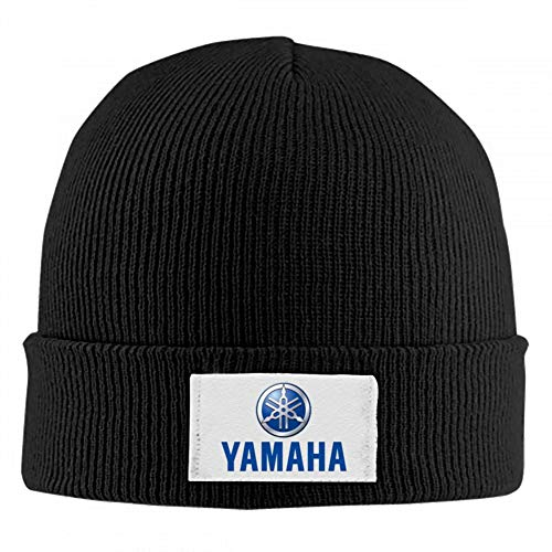 Mens/Womens Knit Beanie,Yamaha Motor Cars Logo Auto Sport Car Cuffed Plain Skull Cap Hat
