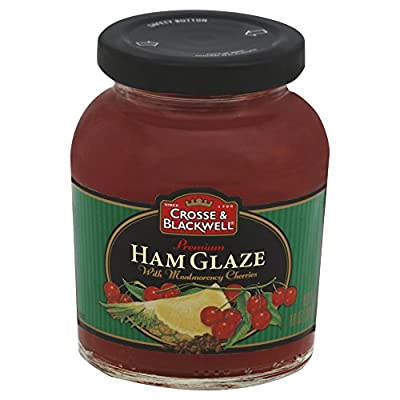 Crosse & Blackwell Premium Ham Glaze With Montmorency Cherries, 10 Ounce (Pack of 6)